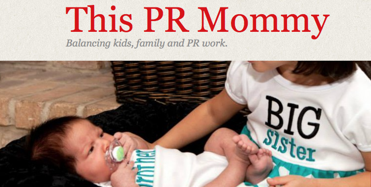 PR Mommy blog header
